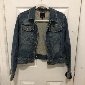 The Limited Light Wash Denim Jacket Jean Medium